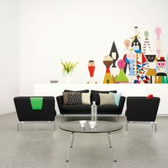 Interior, White Living Room Black Sofa Modern Chairs: 20++ Book Shelves Desing From Designer :D