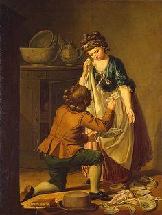 Pehr Hilleström, Broken Dishes, 1781