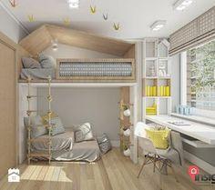 Aranżacje wnętrz - Pokój dziecka: RUSL-01 - InSign Pracownia Projektowa. Przeglądaj, dodawaj i zapisuj najlepsze zdjęcia, pomysły i inspiracje designerskie. W bazie mamy już prawie milion fotografii!