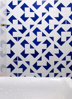 Adesivo de parede: azulejo bandeira 01: GECKO Adesivos Decorativos