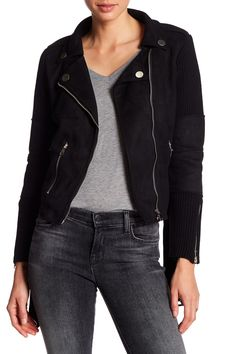 Ribbed Contrast Jacket by Fate on @nordstrom_rack