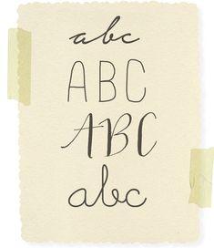 Zelf mooie letters maken betekent vooral veel oefenen. Hier hebben we alvast de 5 handschriftregels verzameld.