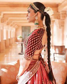 (C) Anmolpunjabi | (C) Umaidbhawanpalace | (C) Shindesu | (C) Sabyasachi | (C) Theweddingjournalsofindia | Bridal portrait | Bridal lehenga | Red lehenga | Bridal hairstyle | Bridal jewellery | Wedding Photography #bridallehenga #bridaljewellery #redlehenga #trending #sabyasachi #bridesofsabyasachi #bridalhairstyle #nath #umaidbhawanpalace Sabyasachi Collection, Bridal Lehenga Collection, Bridal Blouse Designs, Saree Blouse Designs, Wedding Looks, Bridal Looks, Sabyasachi Lehenga Bridal, Red Lehenga, Bridal Shoot