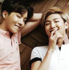 J-Hope: I'm making your girl squirm in her seat right now. Rap Monster: Damn J-Hope back it again with the lip biting and making girls squirm