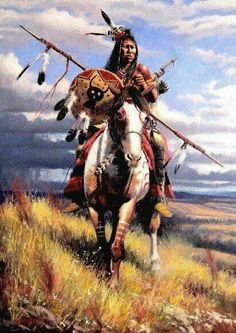 Horse Nomad of the Steppes Pferdenomade der Steppen Native American Horses, Native American Tattoos, Native American Warrior, Native American Paintings, Native American Pictures, Native American Artists, Native American History, Indian Paintings, American Indians