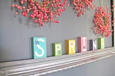 spring decor - Google Search