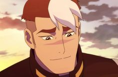 Shiro smiling at Pidge knowing her name is Katie Holt from Voltron Legendary Defender James Griffin, Takashi Shirogane, Shiro Voltron, Graveyard Shift, Lost Boys, Cartoon Art Styles, Beautiful Person, Paladin, Power Rangers