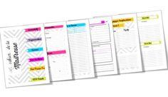 Cahier de la Maitresse 2014/2015 Le calendrier peut aussi servir dans le classeur maison