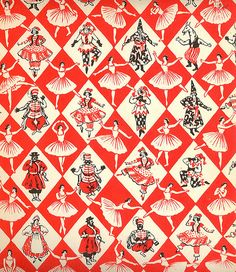 Petrouchka's Endpapers by Mirabilia, via Flickr