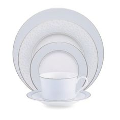 Noritake Ice Iridescence 5-Piece Place Setting - BedBathandBeyond.com except online only...