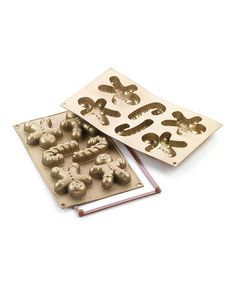 Take a look at this Gingerbread Man Silicone Mold Sheet by Silikomart on #zulily today!