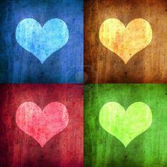 Google Afbeeldingen resultaat voor http://us.123rf.com/400wm/400/400/malopes/malopes0805/malopes080500054/2988892-illustratie-met-vier-harten-met-verschillende-kleuren.jpg