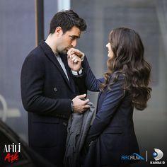 Altan Erkekli and Caglar Ertugrul in Afili Ask Cute Couples Goals, Couple Goals, Space Phone Wallpaper, Turkish Actors, Actresses, Love, Female, Fictional Characters, Beauty