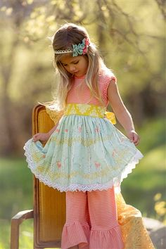 Persnickety Clothing Bo Peep Kassidy Tunic Deer Print Spring 2014 Phase 2 - Love the colour combination
