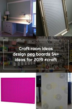 Painted Pegboard, Peg Boards, Room Ideas, Home Appliances, Crafts, Design, House Appliances, Manualidades