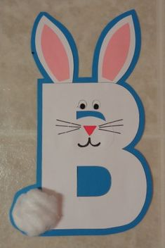 B is for bunny!  :-)
