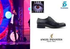 Resumen de lo mejor del año 2016: #DavidBisbal con zapatos de Angel Infantes en la gala final de #GranHermano.