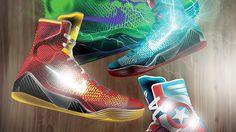 Artist Doms Real dreamed up these Nike Kobe 9 Elite 'Marvel Avengers' concept kicks