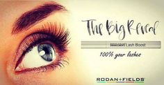 Want longer looking lashes?  Rodan + Fields Lash Boost will be available to preferred customers 11/2/16.  Want this new product now?  Message me on pinterest @ R+Fskincare101 to find out how.