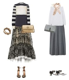 """Untitled #104"" by afivahapriani on Polyvore featuring HUISHAN ZHANG, Valentino, Aquazzura, Tory Burch, Gucci, RED Valentino, Proenza Schouler and Louis Vuitton"