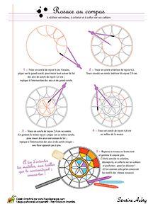 mathekunst mit zirkel lineal pdf geometrie mathe geometrisches zeichnen und mandalas zeichnen. Black Bedroom Furniture Sets. Home Design Ideas