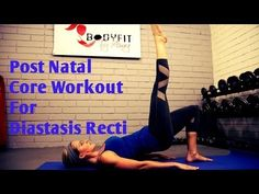 8 Minute Diastasis Recti Core Workout For Ab Separation After Pregnancy - YouTube