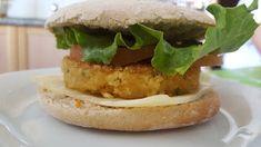 Pão de cebola: Hambúrgueres de tofu