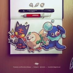 Welcome to Alola Region! Which one do you choose: Litten Rowlet or Popplio? (LOVE POPPLIO)