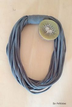 sofeltistas | So Feltistas Jwls. Handmade Cotton Necklace.