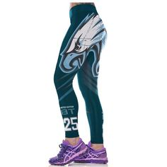Philadelphia Eagles Women Workout Sexy Clothing Leggings