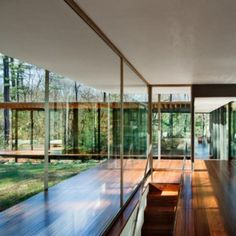 Glass Wood House by Kengo Kuma