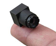 90degree 520tvl HD micro FPV video camera for RC airplane model,RC plane,rc train (10.5x10.5x17.5mm,2g,0.008Lux)