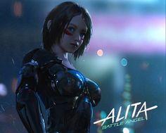 Cyberpunk Anime, Cyberpunk Girl, Arte Cyberpunk, Cyberpunk Character, Female Cyborg, Female Art, Marvel Characters, Fantasy Characters, Manga Cover
