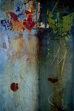 Purple heart by LuAnn Ostergaard