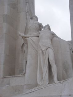 Canadian WW1 Memorial at Vimy Ridge Somme France | Nina Seán Feenan | Flickr