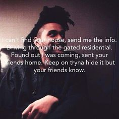 The Weeknd - The Hills  Your man on the road, he doing promo You said keep…