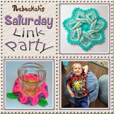 Share what you're making, increase your reach and have some fun with Rebeckah's 44th Saturday Link Party with @beckastreasures   Featuring @crochetmemories @PoshPoochDesign & @2CrochetHooks