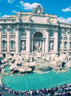 Trevy Fontain, Rome, Italy