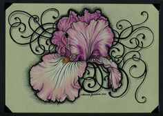 Iris Tattoo Card by m-everham on Artician
