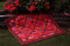 Seeing Red Quilt  by Quiltsalad, via Flickr