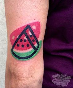 Mambo Tattooer watermelon tattoo