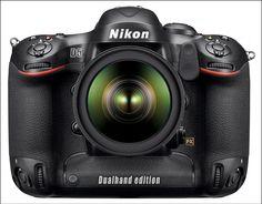 Nikon D5 Dual handgrip pixelpluck.com