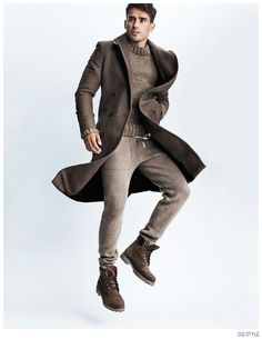 Arthur Kulkov Leaps Into Action for American GQ Style Fashion Editorial