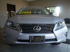 2013 Lexus RX350 Base 4dr SUV SUV 4 Doors Silver Lining Metallic for sale in Concord, CA Source: http://www.usedcarsgroup.com/new-lexus-for-sale