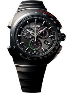 SEIKO ASTRON 2017 LIMITED EDITION GIUGIARO DESIGN   The watch incorporates the remarkable Astron 8X82 chronograph caliber and combines the extraordinary performance of Seiko's GPS Solar technology with the outstanding and greatly admired Giugiaro design concept that first saw the light of day in 1983 when Seiko's quartz chronograph was at the cutting edge of watch technology, just as Astron is today.