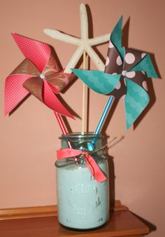 Pinwheels and Starfish Bouquet