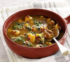 Lentil, Kumara and Watercress Soup
