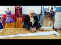 Teknik Membuat Baju Kebaya Tradisional Bahagian 1 - YouTube