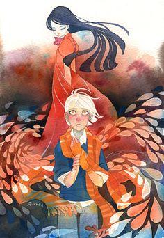 Riikka Auvinen aka tir-ri, my favorite illustrator