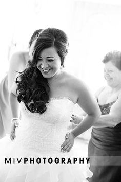 bridal updo, side updo with curls